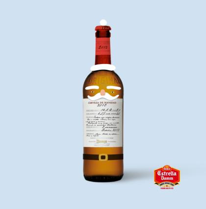 Botellas de Navidad – Estrella Damm